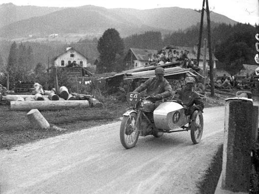 photo - #64 H Tozer BSA Sidecar 496cc ISDT 1939 (Courtesy Technisches Museum Wien)