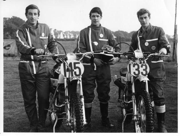Photo of RAF Team #145 Tony Down ISDT 1971