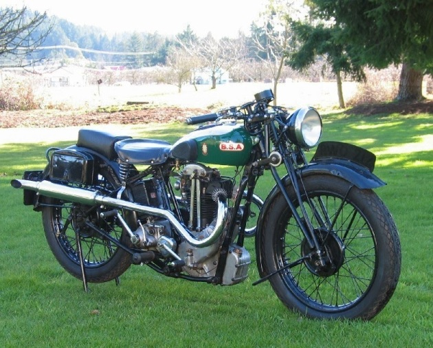 Photo -BSA Blue Star 1932 - ISDT (unknown source)