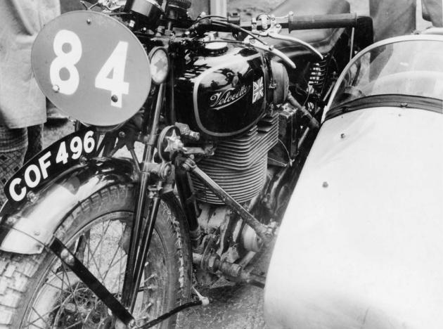 Photo - #84 Stuart Waycott's 598cc Velocette Sidecar [COF 496]