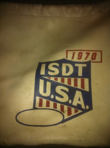 Photo - US Team bag ISDT 1970
