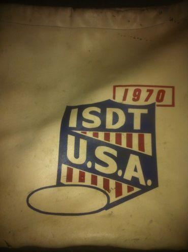 Photo - US Team bag ISDT 1970