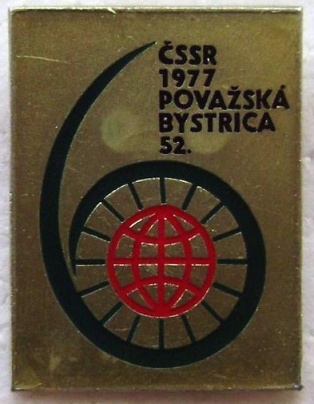 Photo - Lapel badge ISDT 1977