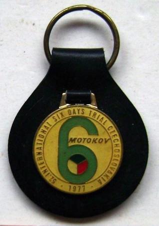 Photo - Keyfob ISDT 1977