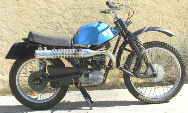Photo Charles Hochderfer's 100cc Hercules as it is today ISDT 1966