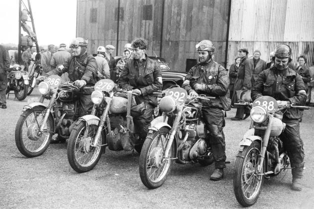 Photo - rider ISDT 1954 (advrider forum)