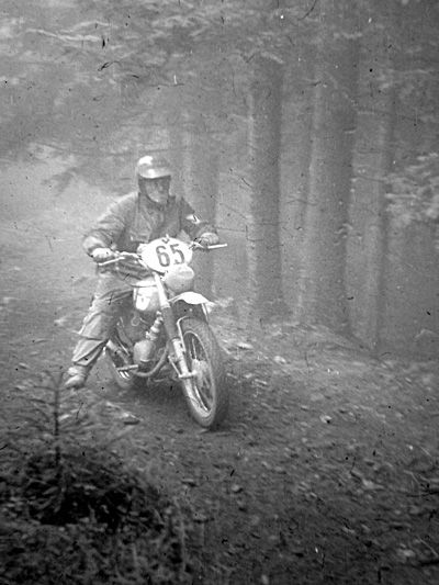 Photo - #65 Luigi Gorini 125cc Gilera Italy 'B' Silver Vase team and Gold Medal winner ISDT 1960