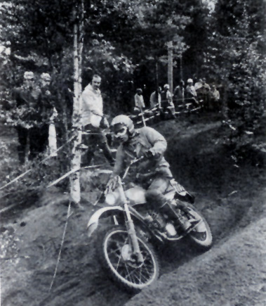 Photo - #222 Masita of the Czech Trophy team ISDT 1978