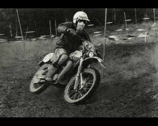 Photo - #224 Frank Schubert of the East German Trophy team ISDT 1978