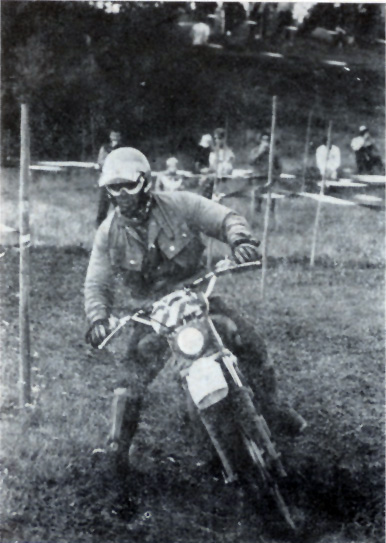 Photo - #229 Josef Cisar of the Czech Silver Vase team ISDT 1978