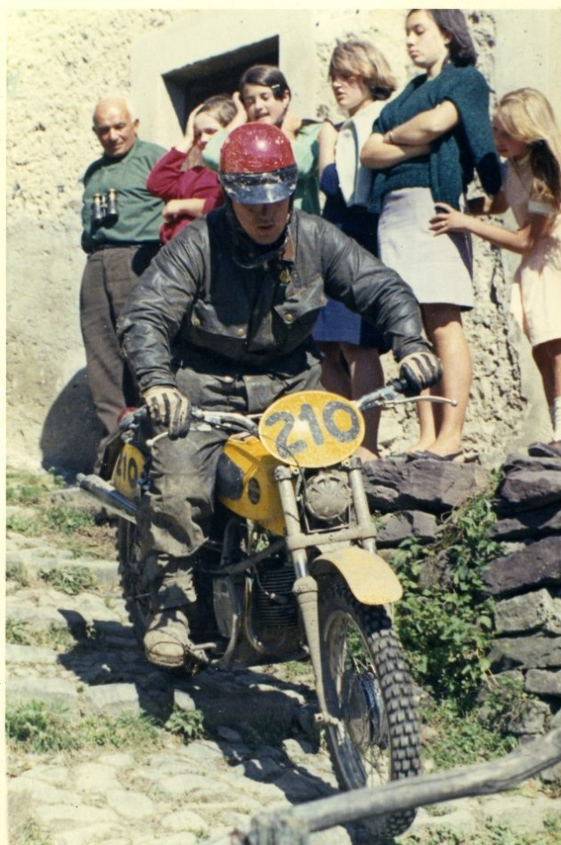 Photo #210 Paolo Cozzi 125cc Laverda ISDT 1968 (Juan Solo collection)