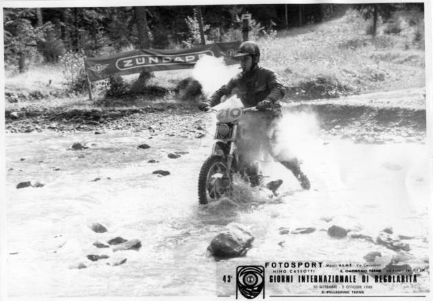 Photo #210 Paolo Cozzi 125cc Laverda ISDT 1968 (Juan Solo collection)