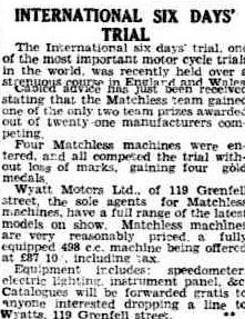 Image 0 scanned article on end of event in the Advertiser, Adelaide, Australia 12 October 1933 ISDT 1933