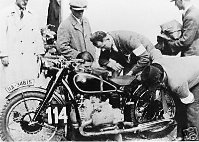 Photo - #114 BMW 500 Kompressor ISDT 1935