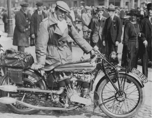 Photo Brough Superior SS80 976cc -  ISDT 1922