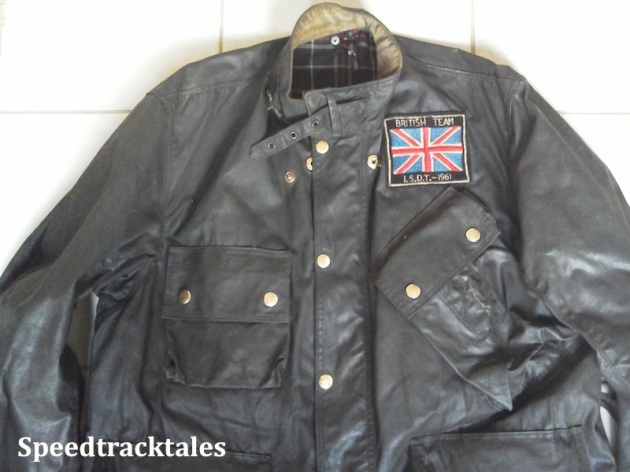 Photo - Barbour International Jacket of British Team rider Colin Moram (Courtesy Ralph Brown)
