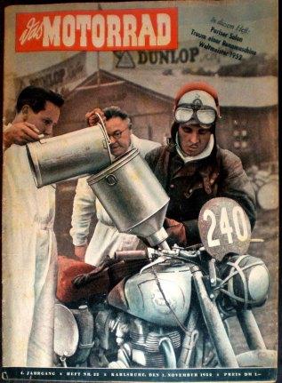 Das Motorrad #22 1 Nove 1952 with report ISDT 1952