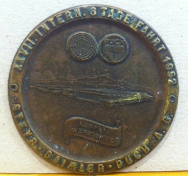 Entrants Medal ISDT 1952