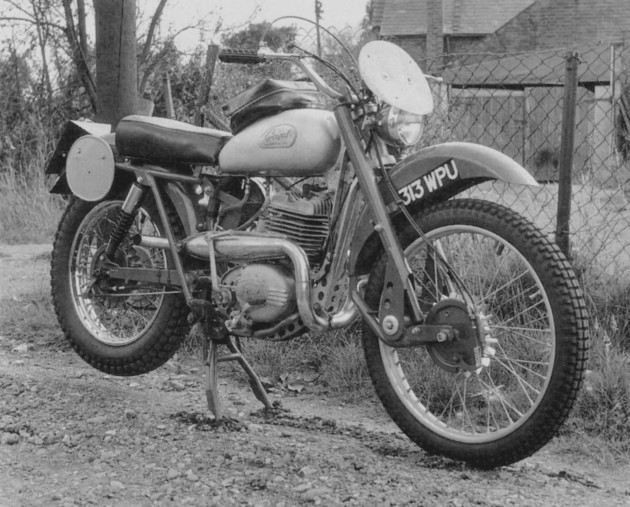 Photo - Greeves - works Six Days Trail machine -ISDT 1961
