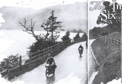 Image of rider #86 at Ullswater ISDT 1927 ( image from STT collection)