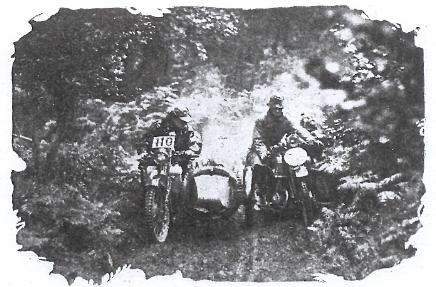 riders on Ashtead Farm Hill