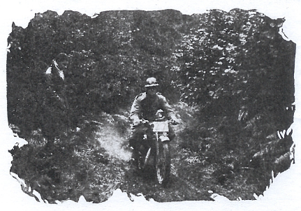 Image of #27 W Smit (Rex-Acme) on Ashtead Farm Hill ISDT 1927