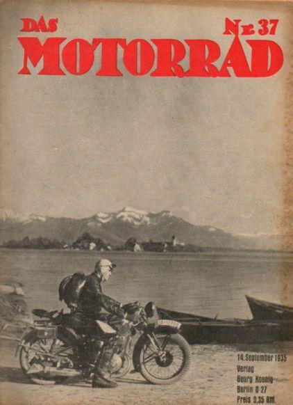 image - cover das Motorrad #37 1935 report ISDT 1935