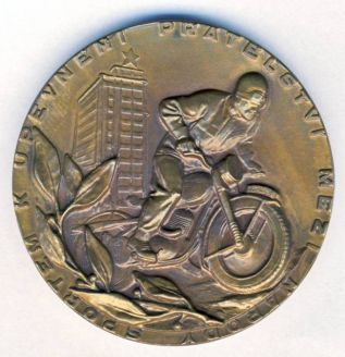 Photo - Participants Medal - front ISDT 1953
