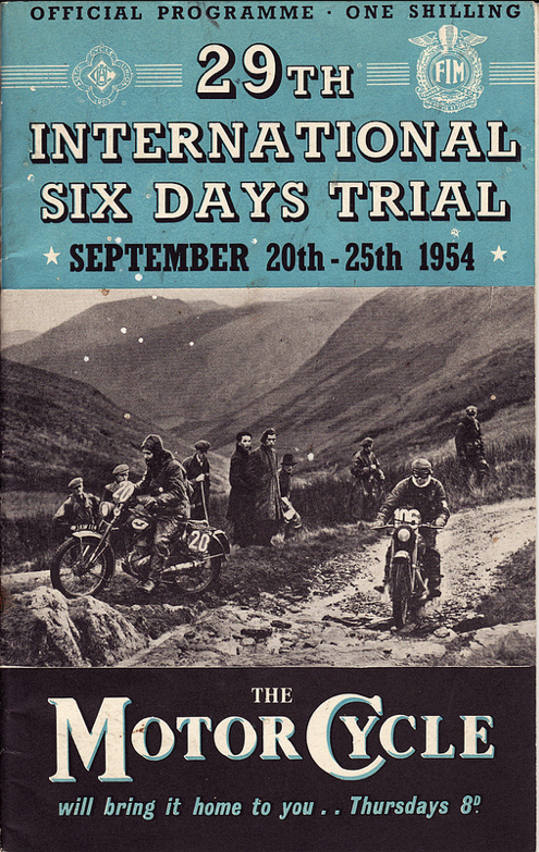 ISDT 1954 - Wales (1/6)