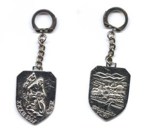 Photo - Keyrings ISDT 1957 ( Courtesy eBay)