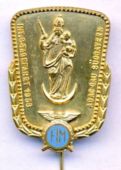 Photo of Souvenir Pin Badge ISDT 1958