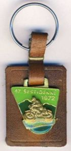 Photo - Keyfob ISDT 1972 (courtesy eBay)