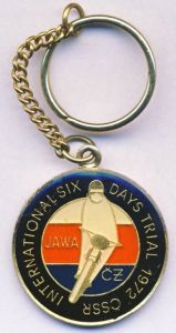 Photo - Souvenir Keyring ISDT 1972 ( Courtesy eBay)