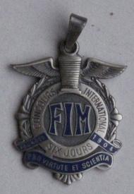 ISDT Silver Medal