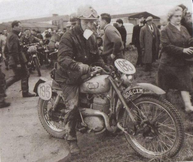 photo - #195 Monty Banks [506 CXM] Greeves Works team at ISDT 1961