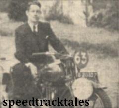 photo - J.E . Fijma (#497 Ariel) Holland ISDT 1938 (Mortons Archive)