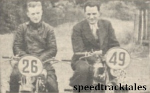 photo - #26 V Stanislav (247 Jawa) (Czechoslovakia), #49 A. Vitvar (247 Jawa) (Czechoslovakia) ISDT 1938 (Mortons Archive)