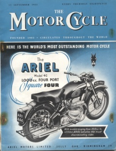 Image - Cover of the Motor Cycle magazine 17 Sept 1953 ISDT 1953