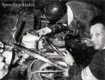 Photo - ISDT 1953 (photo from Speedtracktales Archive)