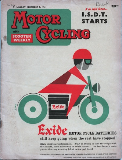 Motor Cycling issue of the 5th October 1961 covers the opening of the event