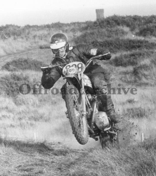 Photo - M Rathmell Triumph ISDT 1971 (Courtesy Deryck Wylde collection)