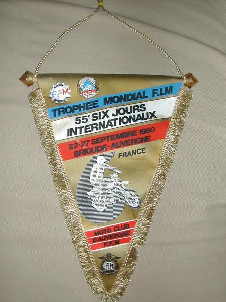 Souvenir pendant - ISDT 1980