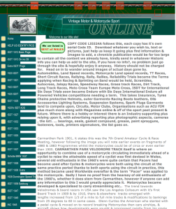image of site page