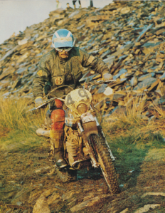 Photo - #48 Rod Bush 250 Penton one of the eight American riders to earn a Gold Medal ISDT 1975