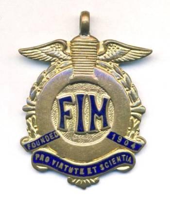 ISDT 1959 Gold Medal
