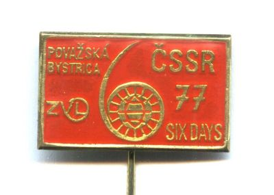 pin badge ISDT 1977