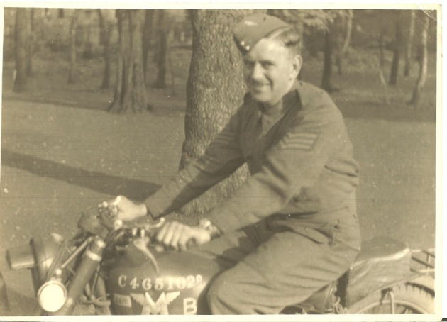 Photo of Tom Whitton Royal Signals Sergeant Instructor c1940