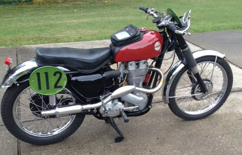 Former Jim Sandiford And Dave Bickers Bike (Classic & Competition Motorcycles.com)