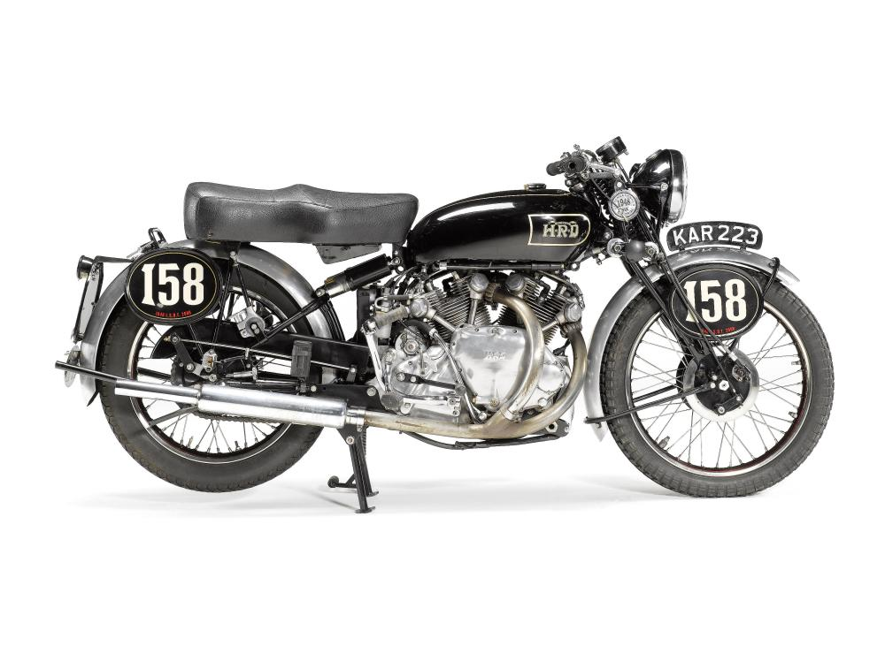 Recovered classics Vincent HRD, BMW and Jawa (1/3)