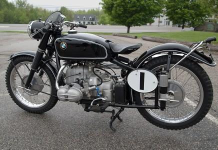 Restored 1952 R68 BMW Gelandesport